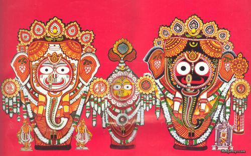 Lord Shri Jagannath Ji in Gajaanan Swaroop