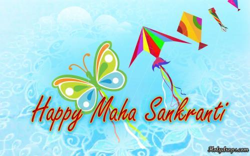 HD Makar Sankranti wallpaper