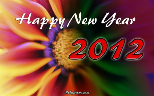 New year greeting HD