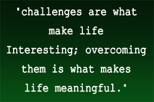 challenges are what...